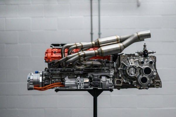 84 gordon murray t50 official reveal engine 600x400 تزریق سرمایه 50 میلیون پوندی به شرکت گوردن میوری برای ایجاد یک مرکز جدید اخبار IT