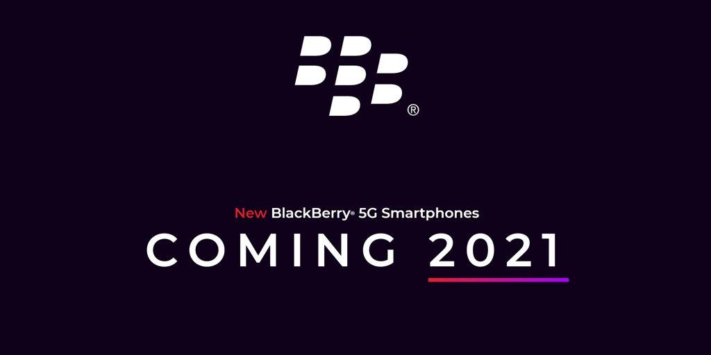 Blackberry return موبایل بلک بری جدید با کیبورد فیزیکی سال ۲۰۲۱ از راه میرسد اخبار IT