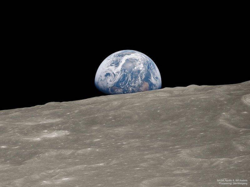 Earthrise1 Apollo8AndersWeigang 960 دوربین ماژولار و مدیوم فرمت هاسلبلاد 907X معرفی شد اخبار IT