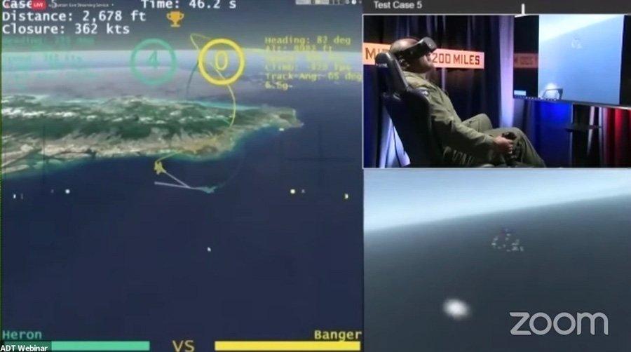 Heron Systems AI pilot just beat a human in a simulated dogfight 1 خلبان F 16 در نبرد هوایی شبیه سازی شده از هوش مصنوعی شکست خورد اخبار IT