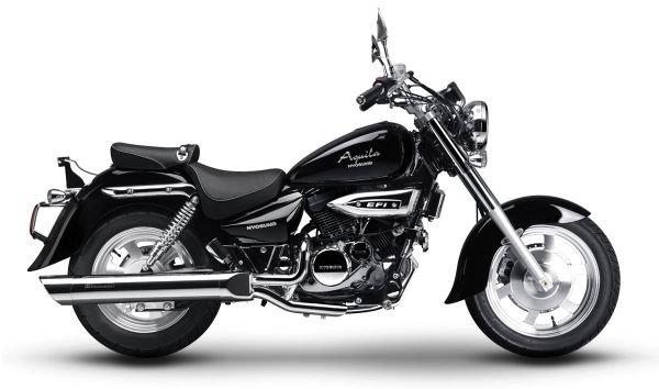 Hyosung Aquila 250 2 بررسی موتورسیکلت هیوسانگ آکویلا 250؛ هارلی دیویدسون کرهای اخبار IT