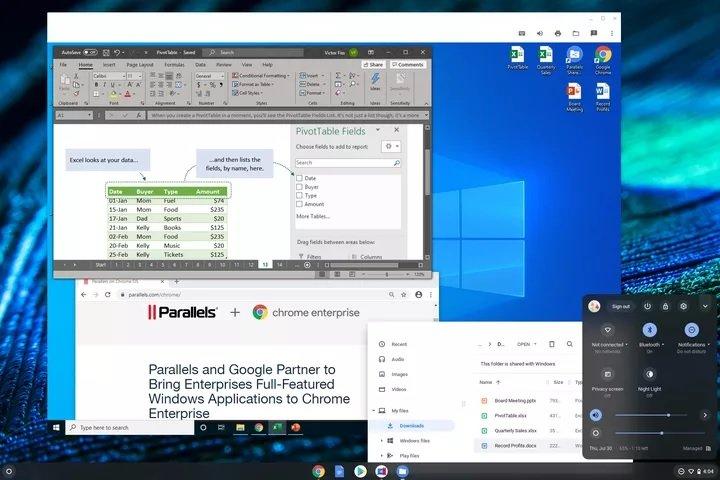 Windows Apps Chrome OS گوگل چگونه برنامههای ویندوز را به کروم بوکها میآورد؟ اخبار IT