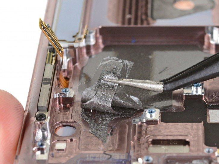 gsmarena 001 9 شفاف سازی iFixit در مورد سیستم های خنک کننده گلکسی نوت 20 و نوت 20 اولترا اخبار IT