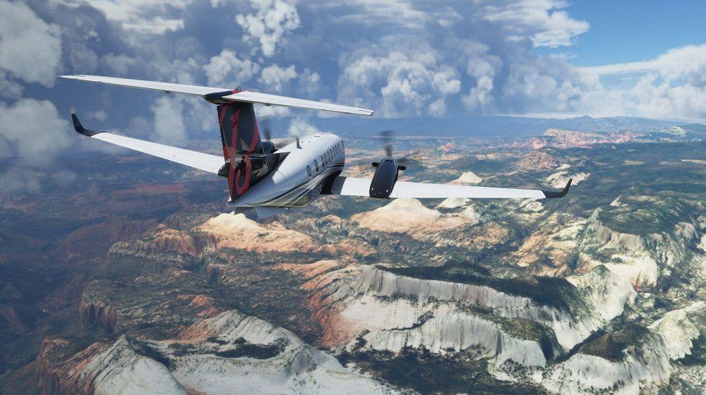 شبیه ساز پرواز مایکروسافت