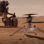 هلیکوپتر مریخ برای اولین بار روشن شد؛ آماده برای پرواز