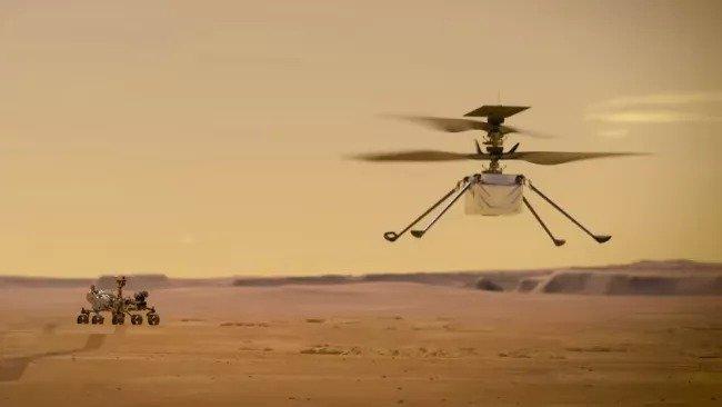 qaBx6nusC9PpCvJRzeN49o 650 80.jp  هلیکوپتر مریخ برای اولین بار روشن شد؛ آماده برای پرواز اخبار IT