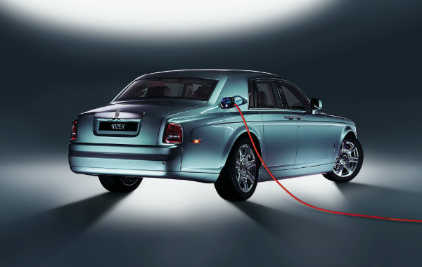 2011 rolls royce electric 102ex concept 2 اولین خودروی الکتریکی رولزرویس احتمالا تا سال 2030 معرفی میشود اخبار IT