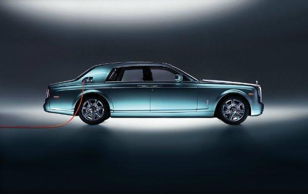 2011 rolls royce electric 102ex concept 3 اولین خودروی الکتریکی رولزرویس احتمالا تا سال 2030 معرفی میشود اخبار IT