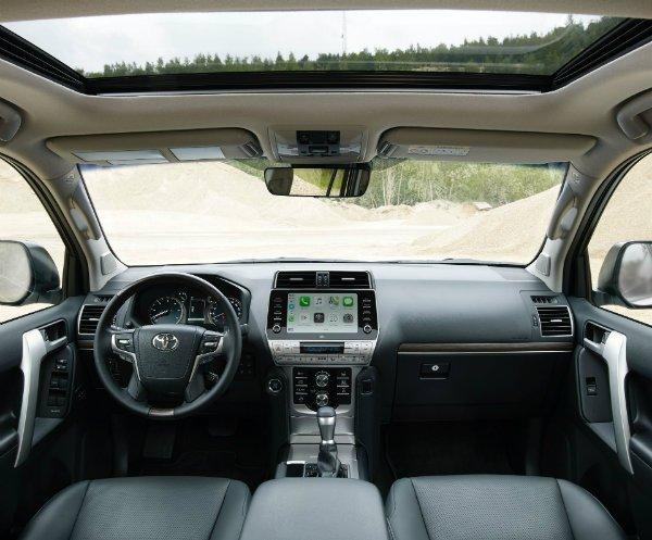 2021 Toyota Land Cruiser Prado Euro spec 1 تویوتا لندکروزر پرادو 2021 با تجهیزات بیشتر معرفی شد اخبار IT