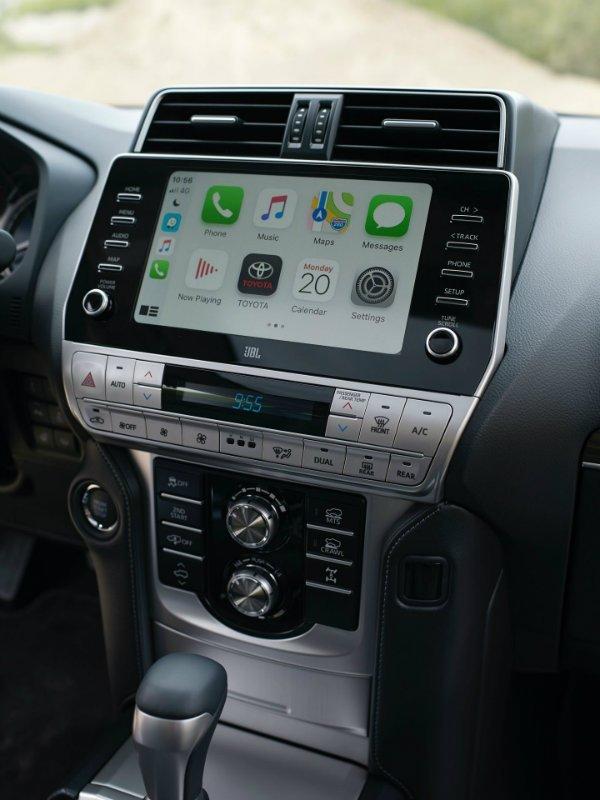 2021 Toyota Land Cruiser Prado Euro spec 7 تویوتا لندکروزر پرادو 2021 با تجهیزات بیشتر معرفی شد اخبار IT