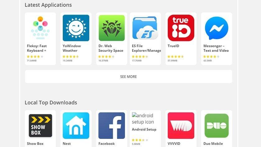 Aptoide screenshot 2019 بهترین جایگزین های گوگل پلی که همه اندرویدی ها باید بشناسند اخبار IT