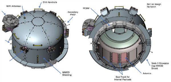 Bishop Overview Configuration w600 اولین هوابند خصوصی اواخر ۲۰۲۰ راهی ایستگاه فضایی بینالمللی میشود اخبار IT