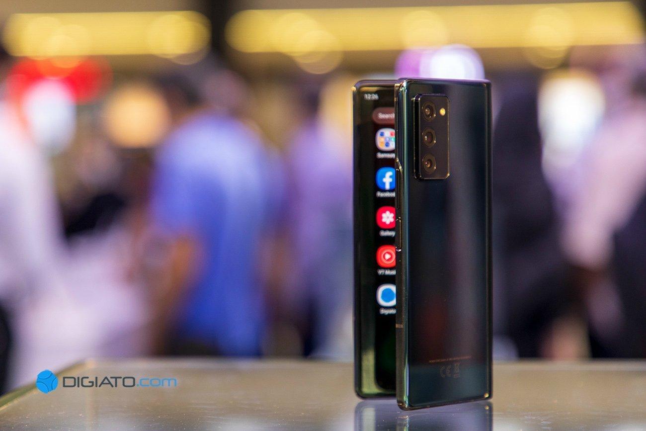 Digipic GalaxyZFold2 04 نگاه نزدیک به گلکسی زی فولد ۲؛ گرانترین گوشی بازار ایران [تماشا کنید] اخبار IT