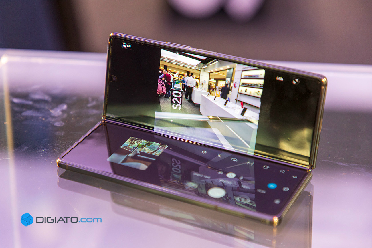Digipic GalaxyZFold2 06 نگاه نزدیک به گلکسی زی فولد ۲؛ گرانترین گوشی بازار ایران [تماشا کنید] اخبار IT
