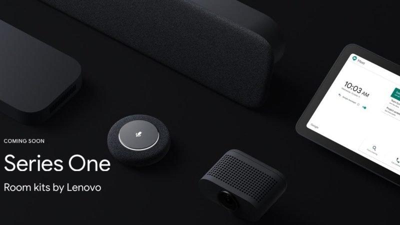 رونمایی گوگل از باندل سخت افزاری Series One برای اتاقهای جلسات