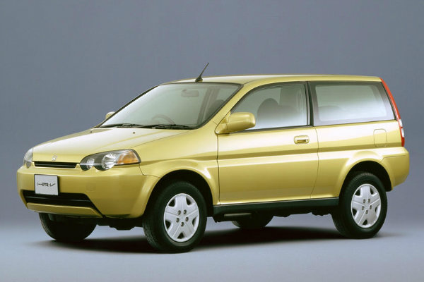 Honda HR V 1998%E2%80%932006 2014%E2%80%93Present مروری بر تاریخچه کراساوورها؛ محبوبترین کلاس خودرو در جهان اخبار IT