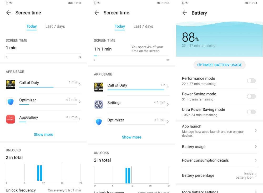 Hono9A CoDM BatteryTest باتری آنر 9A در شرایط مختلف چقدر دوام میآورد؟ اخبار IT