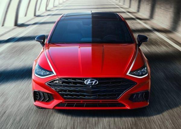 Hyundai Sonata N Line 2021 14 هیوندای سوناتا N Line با چهره اسپرت و موتور قدرتمند معرفی شد اخبار IT