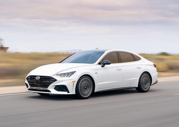 Hyundai Sonata N Line 2021 3 هیوندای سوناتا N Line با چهره اسپرت و موتور قدرتمند معرفی شد اخبار IT