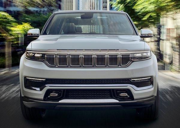 Jeep Grand Wagoneer Concept 2020 3 نگاهی به مشخصات کانسپت جیپ گرند واگنیر با هفت نمایشگر داخلی و فنربندی بادی اخبار IT