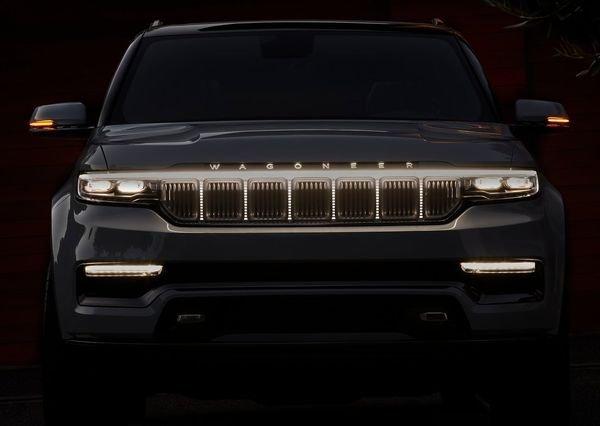 Jeep Grand Wagoneer Concept 2020 5 نگاهی به مشخصات کانسپت جیپ گرند واگنیر با هفت نمایشگر داخلی و فنربندی بادی اخبار IT