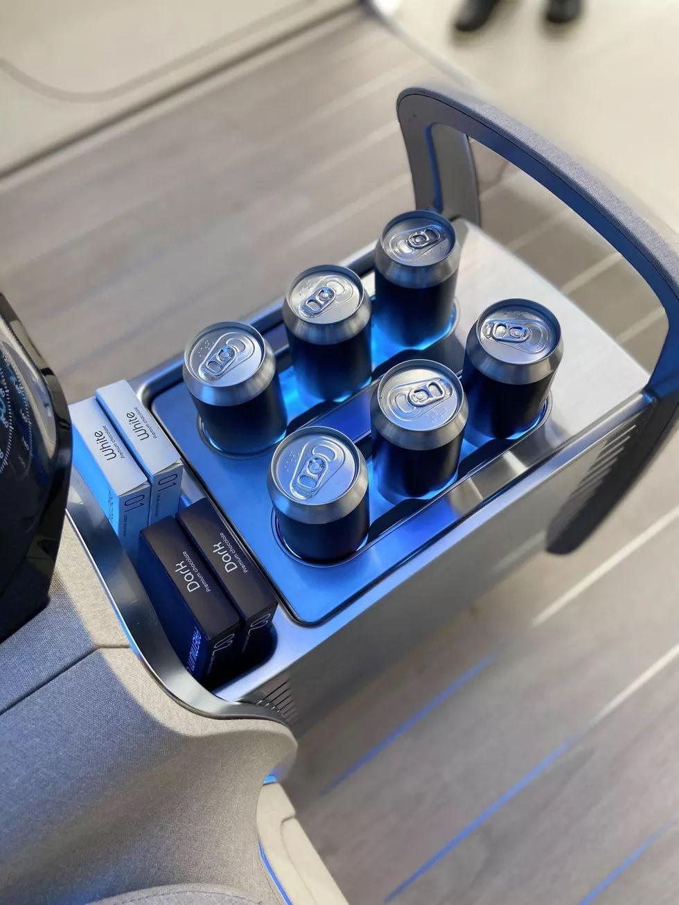 LG Hyundai EVs Cabin 1 طرح مفهومی هیوندای و ال جی برای کابین خودروهای برقی: ربات و تلویزیون غول پیکر اخبار IT