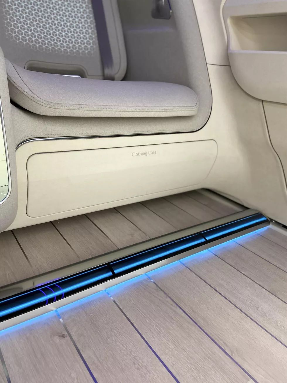 LG Hyundai EVs Cabin 3 طرح مفهومی هیوندای و ال جی برای کابین خودروهای برقی: ربات و تلویزیون غول پیکر اخبار IT