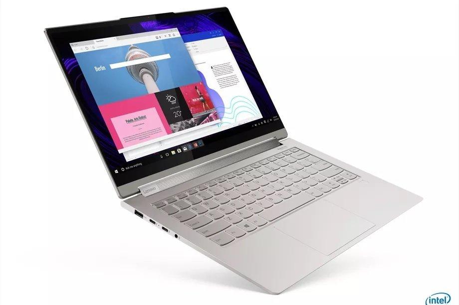 Lenovo Yoga 9i لنوو از لپتاپهای سری یوگا 9i با پردازنده تایگر لیک اینتل رونمایی کرد اخبار IT