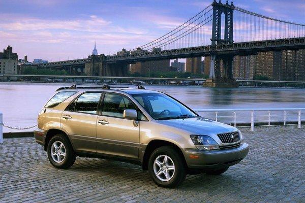 Lexus RX 1998%E2%80%93present مروری بر تاریخچه کراساوورها؛ محبوبترین کلاس خودرو در جهان اخبار IT
