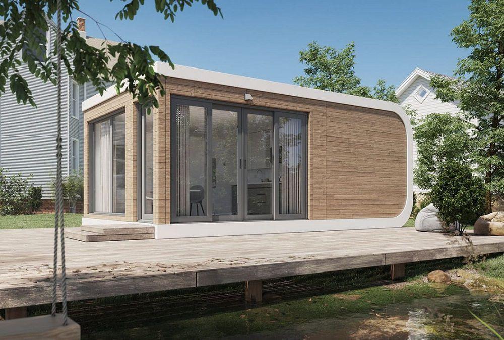 ساخت خانه با پرینتر سه بعدی در کمتر از ۲۴ ساعت [تماشا کنید]