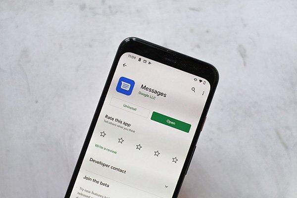 اپ گوگل Messages به زودی پیامکهای رمز پویا را به طور خودکار حذف میکند