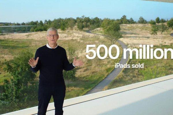 اپل در یک دهه گذشته نیم میلیارد دستگاه آیپد فروخته است