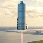 اسپیس اکس نمونه اولیه فرودگر ماه را آزمایش میکند