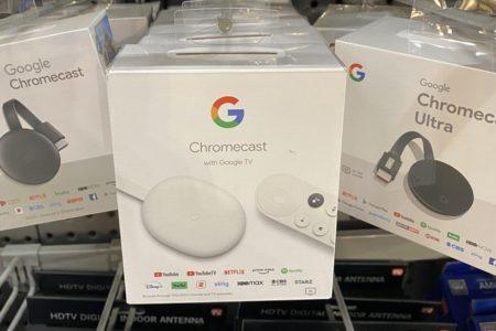 فروش کروم کست جدید گوگل پیش از رونمایی رسمی