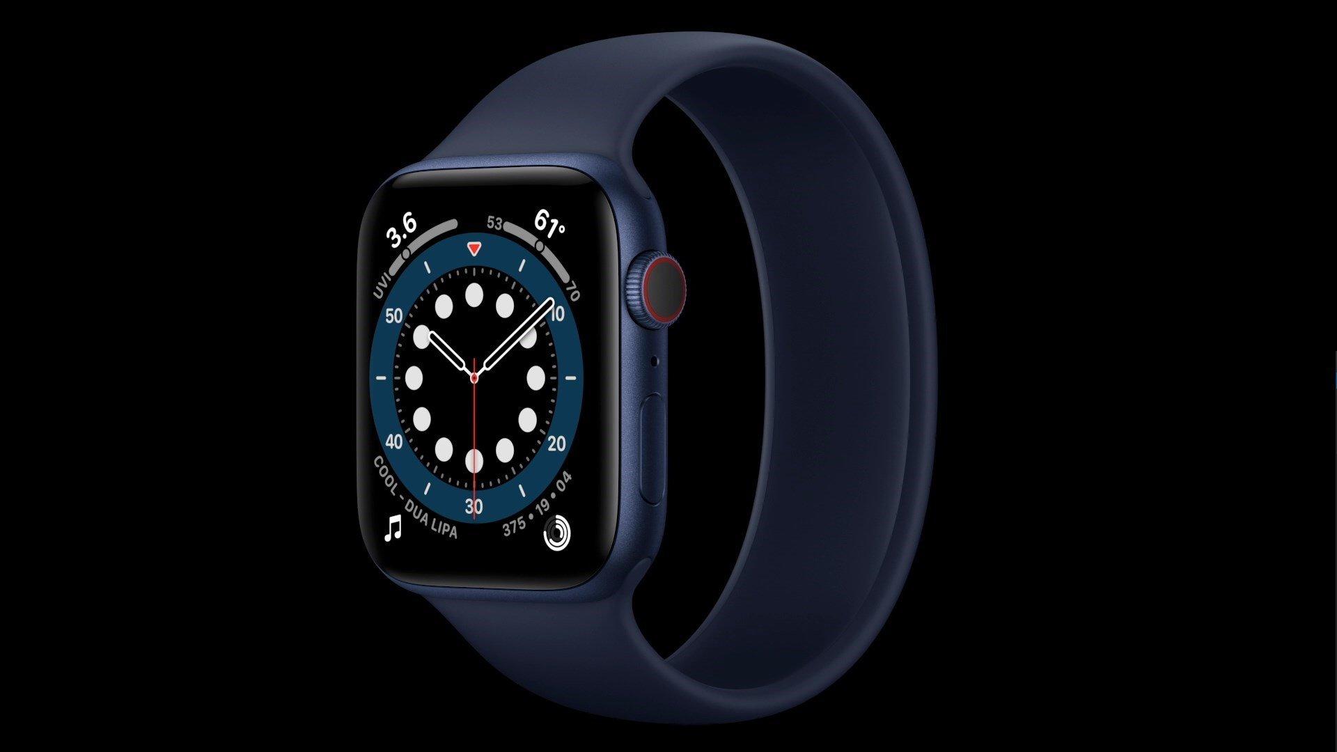 اپل واچ سری 6 بدون شارژر عرضه میشود