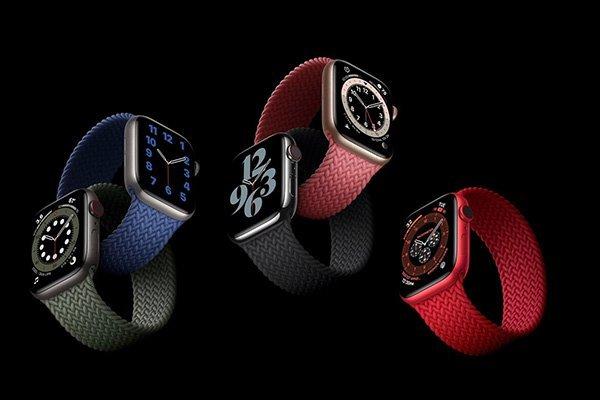اپل واچ سری ۶ معرفی شد؛ پایش اکسیژن خون و رنگهای جدید