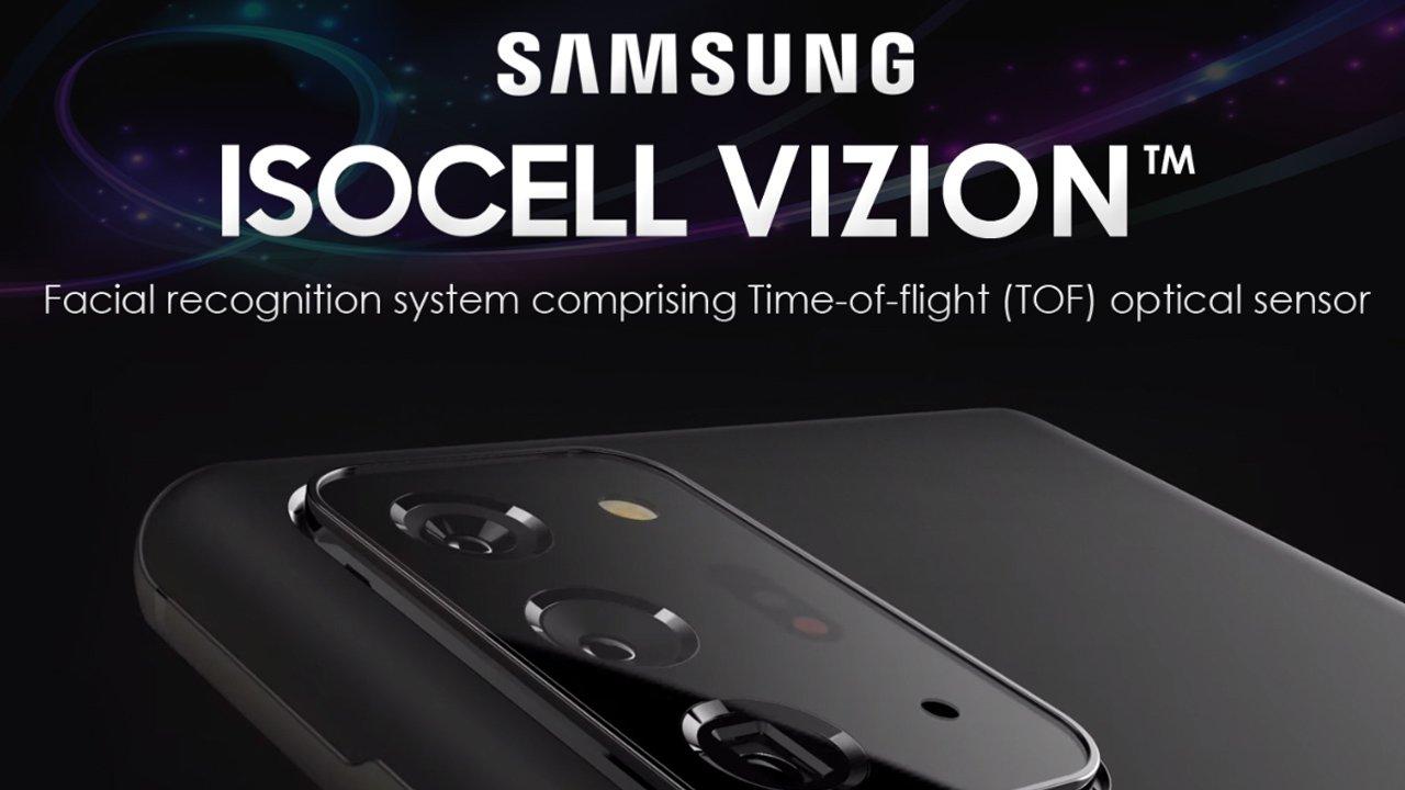 samsung isocell vizion tof sensoru ile gundemde سامسونگ در حال توسعه حسگر ToF سه بعدی برای گلکسی S21 است اخبار IT