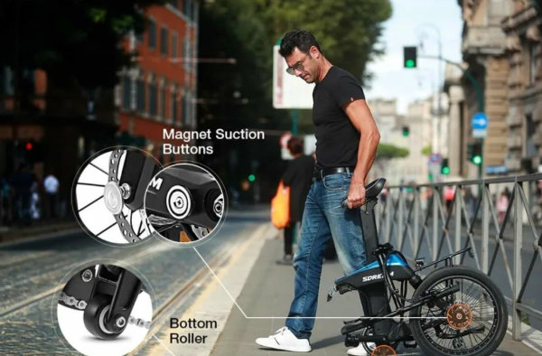 world debut sdream ur 500x foldable ebike the smoothest ride anywhere 4 با Sdream Ur 500X آشنا شوید؛ یک دوچرخه برقی متفاوت اخبار IT