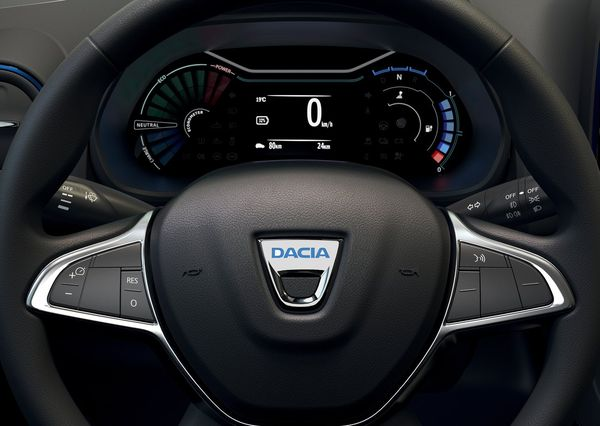 Dacia Spring Electric 2022 17 داچیا اسپرینگ رکورد ارزانترین خودروی برقی اروپا را شکست اخبار IT