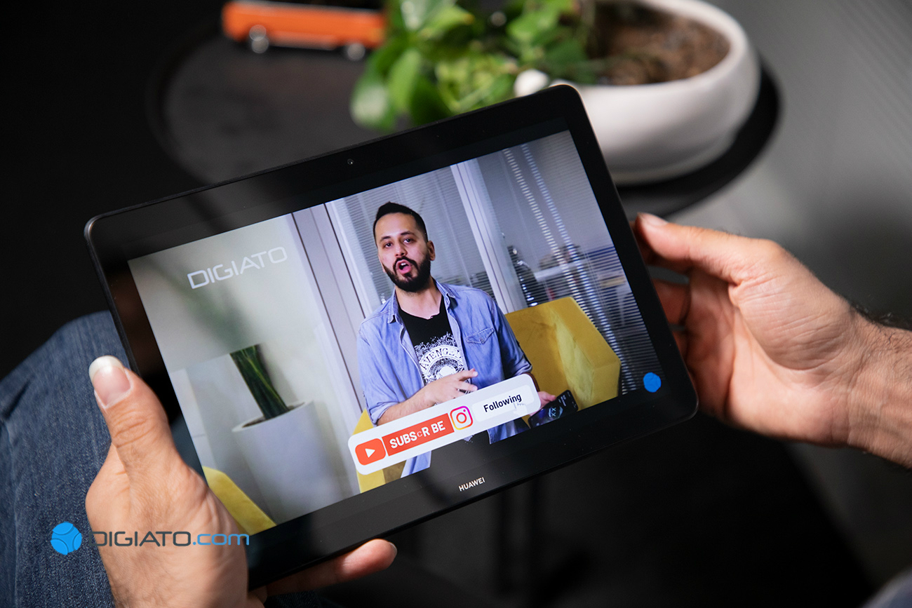 Digipic HuaweiMediaPadT5 09 بررسی هواوی مدیاپد T5؛ رستاخیز یک تبلت اقتصادی اخبار IT