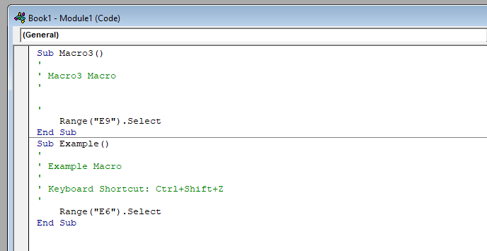 Excel Macro Code Example چگونه در اکسل کلید میانبر بسازیم؟ اخبار IT