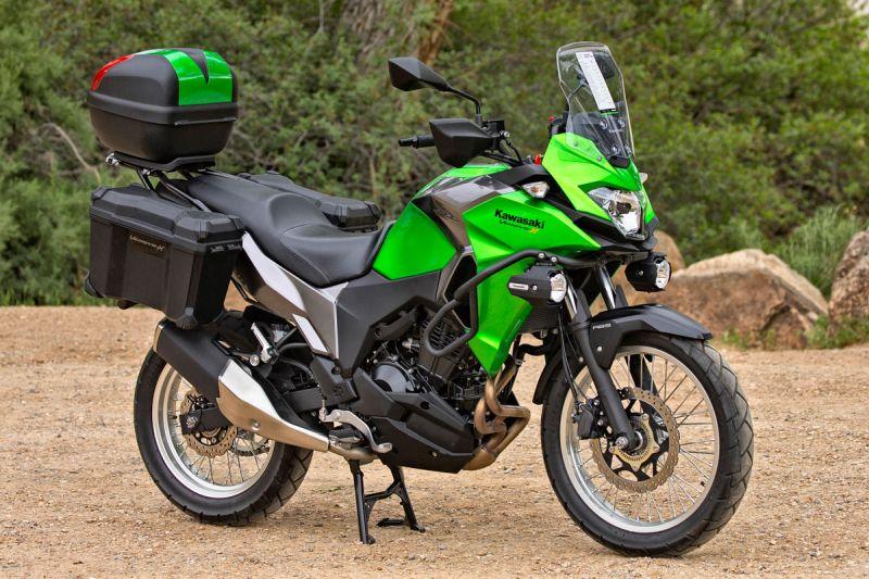 Kawasaki Versys X 300 Test Review 19 بررسی موتورسیکلت کاوازاکی ورسیس 250 اخبار IT