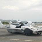 پرواز موفق خودروی پرنده AirCar با امکان رانندگی روی جاده [تماشا کنید]