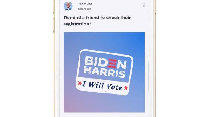 Vote Joe ترامپ و بایدن از اپهای کمپین خود برای جمع آوری اطلاعات کاربران استفاده میکنند اخبار IT