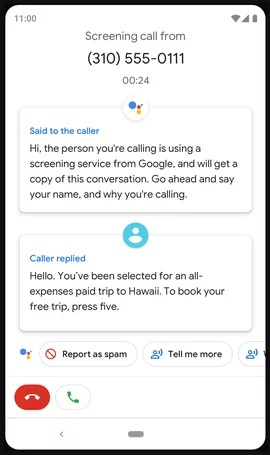 call screen ۶ ویژگی جدید اندروید ۱۱ که رقابت با iOS را افزایش میدهد اخبار IT