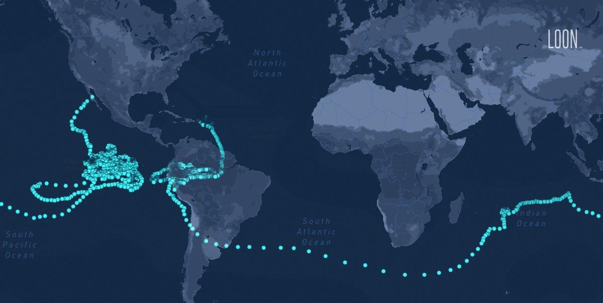 dims 8 بالون اینترنتی آلفابت با 312 روز پرواز در استراتوسفر رکورد جدیدی به جای گذاشت اخبار IT
