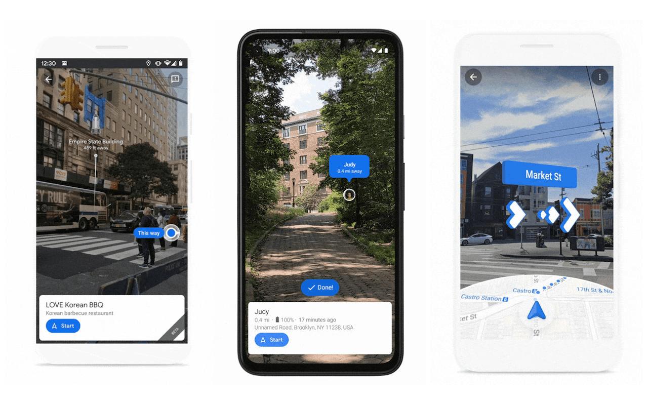 image 2020 10 02 12 35 00 گوگل مپس با بهبود قابلیتهای واقعیت افزوده مسیریابی را از همیشه سادهتر میکند اخبار IT