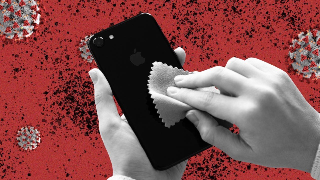 p 2 phone clean up corona virus ویروس کرونا 28 روز روی نمایشگر گوشیهای هوشمند زنده میماند اخبار IT