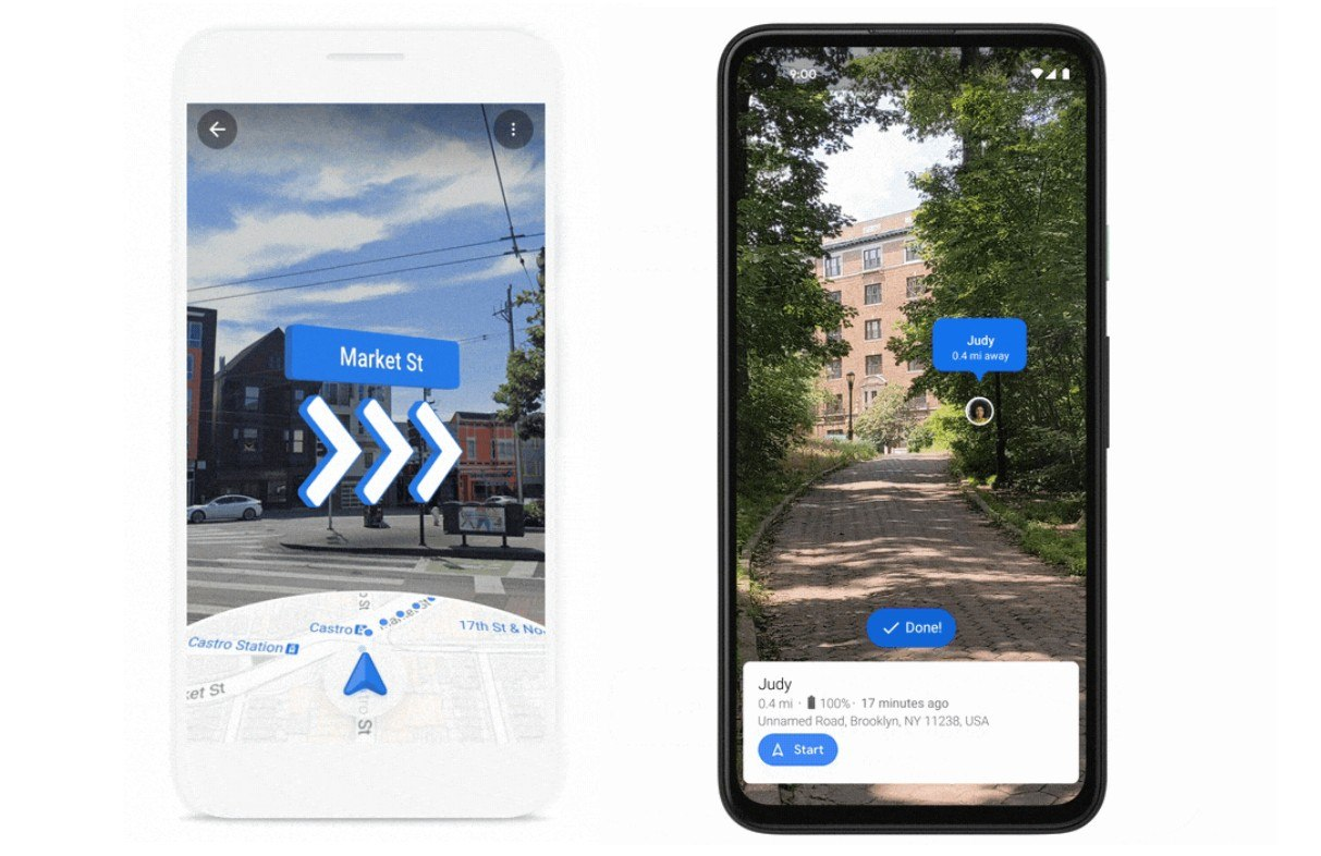 photo6033047892933063302 گوگل مپس با بهبود قابلیتهای واقعیت افزوده مسیریابی را از همیشه سادهتر میکند اخبار IT