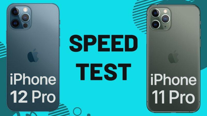 مقایسه سرعت آیفون ۱۲ پرو و آیفون ۱۱ پرو در دیجیاتو